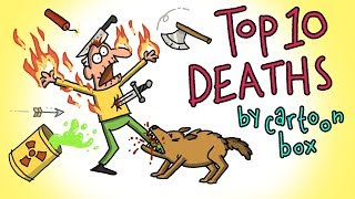 Top 10 DEATHS | The BEST of Cartoon Box | by FRAME ORDER | Hilarious Cartoon Compilation