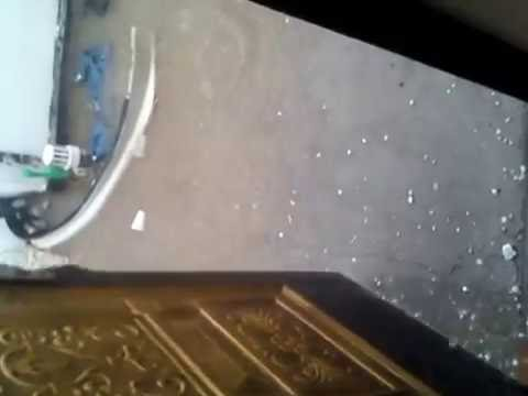 Saudi Arabia hail storm