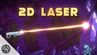 How To Create and Shoot a 2D Laser in Unity