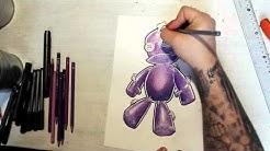 Voodoo doll drawing