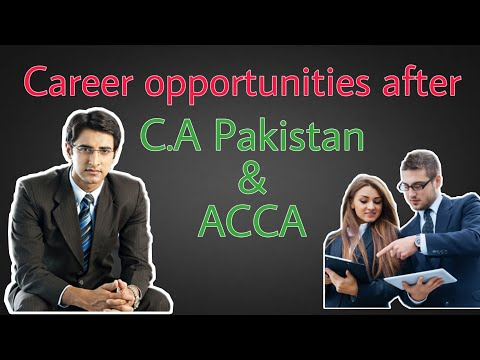 Career Opportunities in Chartered Accountancy : C.A Legacy