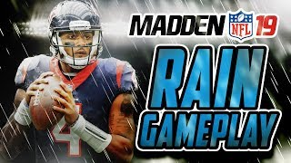 Madden NFL 19 Gameplay - RAIN GAME!!! Texans Vs Seahawks