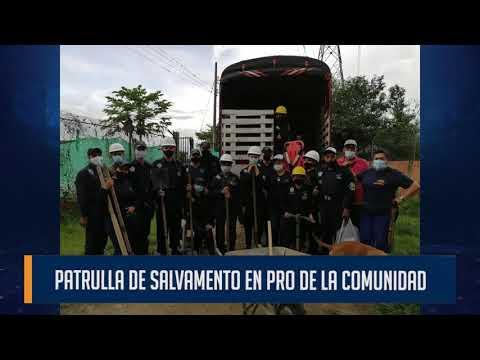 170 voluntarios conforman la patrulla de Salvamento que existe en el barrio Villa del Sol