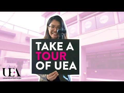 Let's Take A Tour | University of East Anglia (UEA)