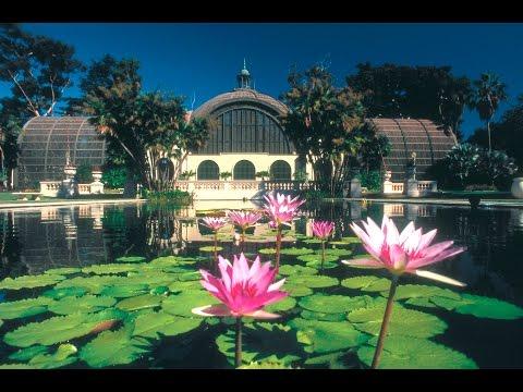 Balboa Park. Достопримечательность Сан-Диего номер 1. Океан, туристическое местечко.