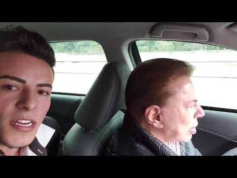 Peguei carona com Silvio Santos