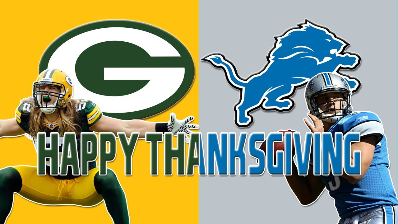 Detroit Vs Green Bay 2013 Lions Thanksgiving Packers