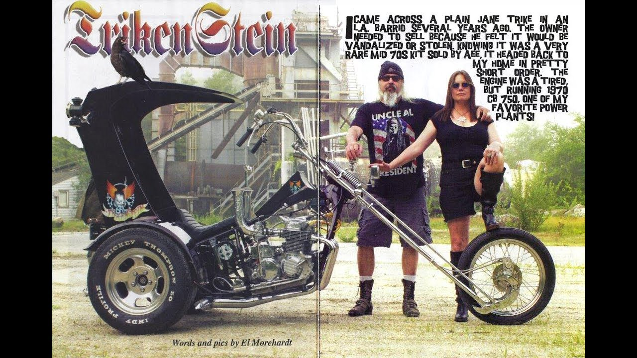 Custom Motorcycle Trikes For Sale