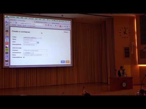 COSCUP 2014 閃電秀 - 6. 自製Docker Web UI - KD