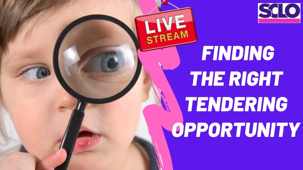 SCLO Live - Finding tenders that are right for your business