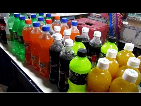 Indian Cold Drinks Shop in Chennai Beach || Food at Street