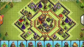 Clash of Clans th 9 dark saving base