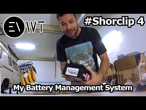 Battery Management System (BMS) Orion for my TESLA Battery Pack in my VW T3 SYNCRO #Shortclip4