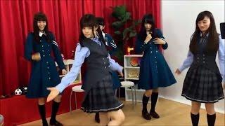 欅坂46と踊ったさゆりんごマジョリティのまゆこ撮影バージョンです! ...