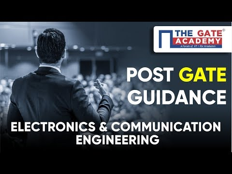 Post GATE Guidance For M.Tech In IIT, NIT & PSU Jobs   Electronics & Communication Engineering