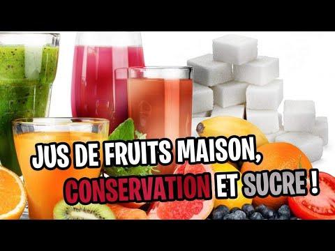 jus de fruit maison conservation et sucre youtube. Black Bedroom Furniture Sets. Home Design Ideas