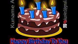 GIF Animation - Happy Birthday To you