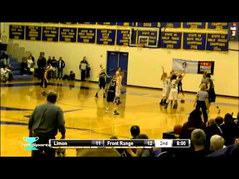 CHSAA Girls Basketball Playoffs - Limon vs Front Range Christian School  Class 2A  Round District S