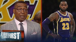 Lakers should consider trading LeBron, talks Ty Lue - Cris Carter | NBA | FIRST THINGS FIRST