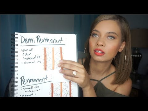 TYPES OF HAIR COLOR! PERMANENT, SEMI/DEMI? WHAT DOES IT ...