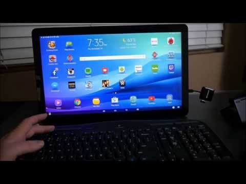 18.4 inch Samsung Galaxy View Tablet Keyboard & Mouse Test ...