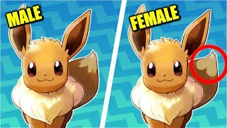 All Pokémon Gender Differences (Generation 1 to 7 + Let's Go)
