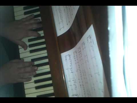 me playing little women theme by thomas newman