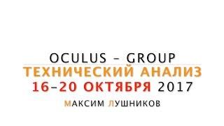Технический анализ рынка Форекс на неделю: 16.10.17-20.10.17 от Максима Лушникова | OCULUS - Group
