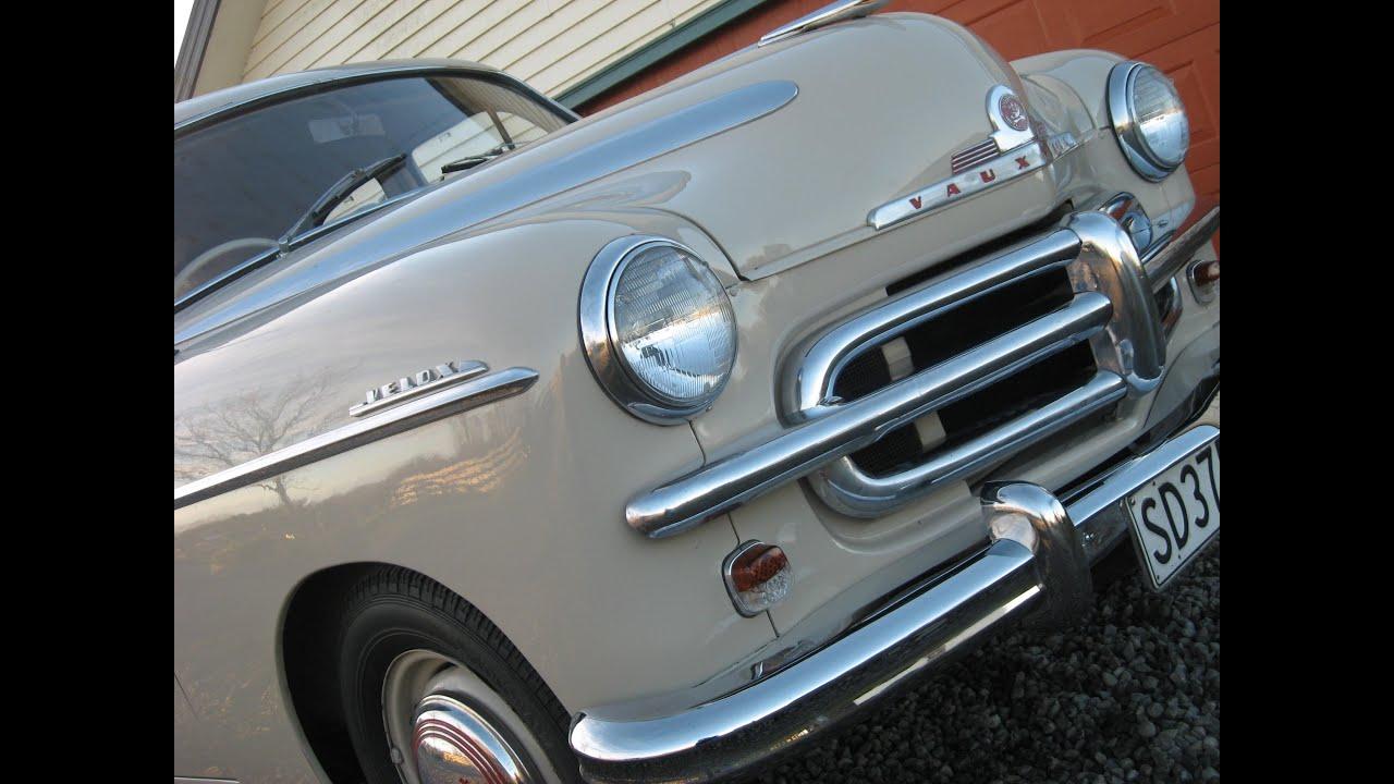 1953 Vauxhall Velox EIP - Waimak Classic Cars - New Zealand - YouTube