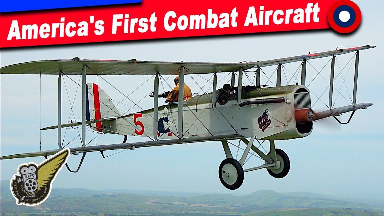 The de Havilland DH-4: A Fast Light Bomber In WW1