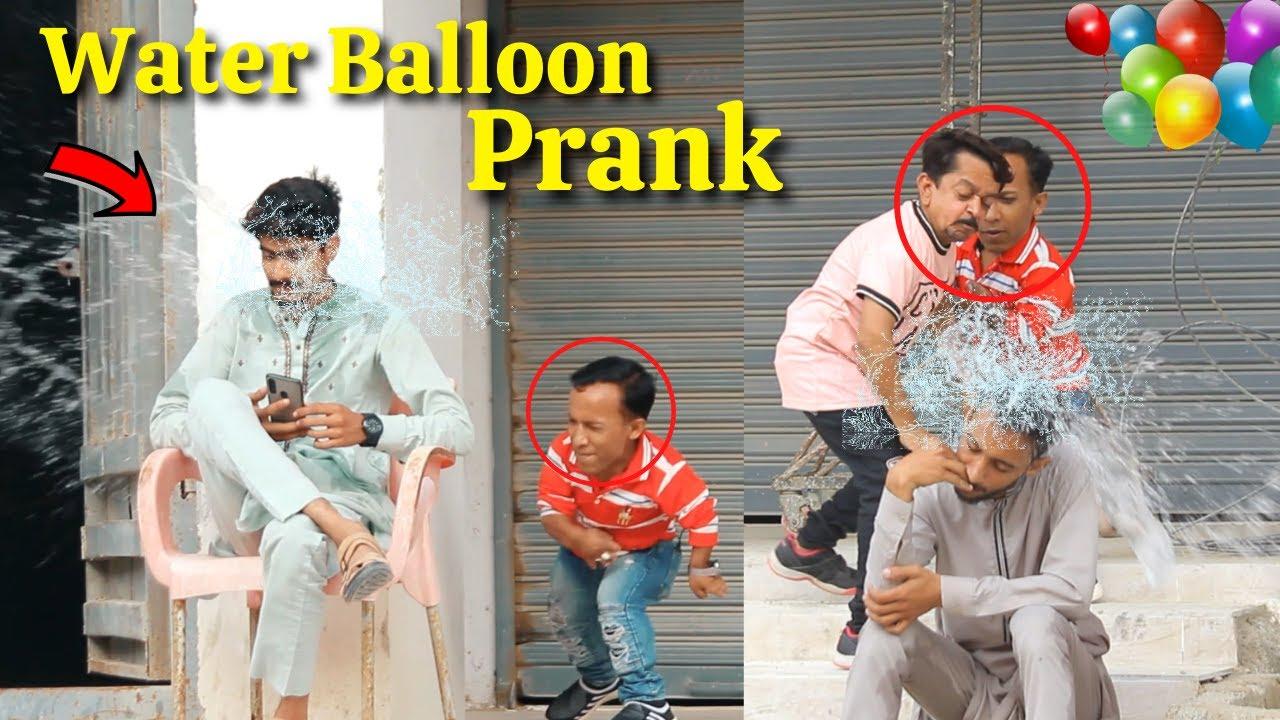 Throwing Water Balloon Prank at People Prank ! - Funny Public Prank | New Talent