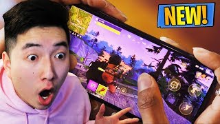 REACTING to Mobile Fortnite Gameplay REVEAL! - How to Download Mobile Fortnite (iOS & Android)