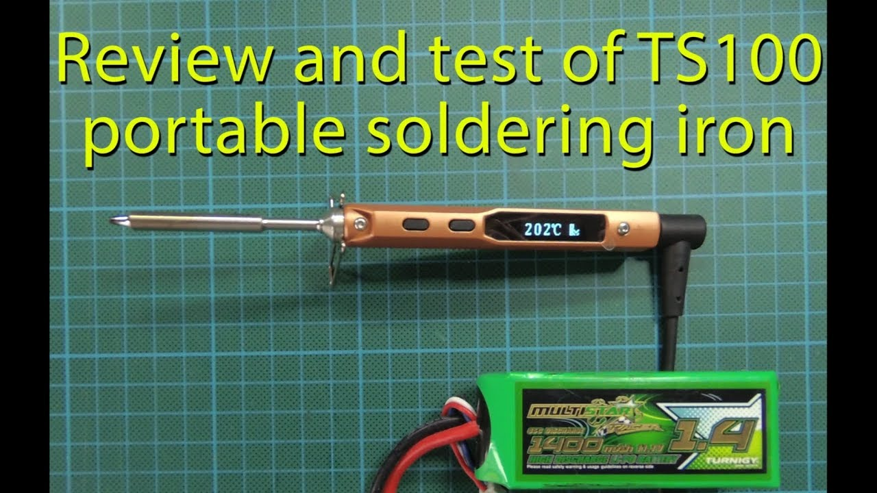 TS100 Review and Test (portable solder iron) by Hugues D