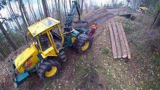 Abächerli Forstunternehmen AG, Sicherheitsholzschlag A8