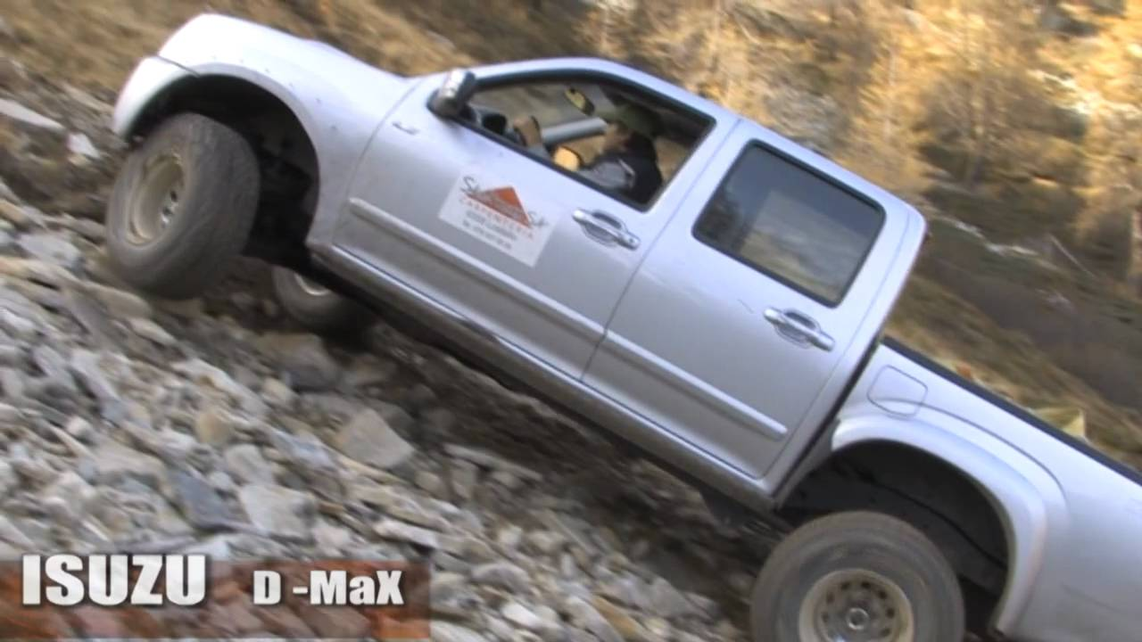 ISUZU DMaX 30 TD hummer HI H2 4x4 off road  YouTube