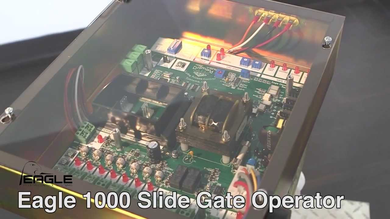 Eagle 1000 Gate Operator Youtube Controller Board Image Control Opener Circuit Panel