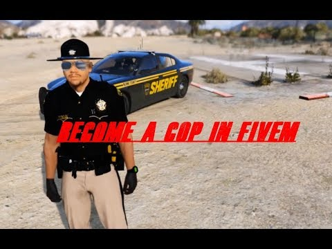 Becoming a cop in FiveM pt 1