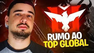 FREE FIRE RUMO AO GLOBAL FT. KVR4, MARCOS H7 E FANTASMA ‹ Caiozim ›