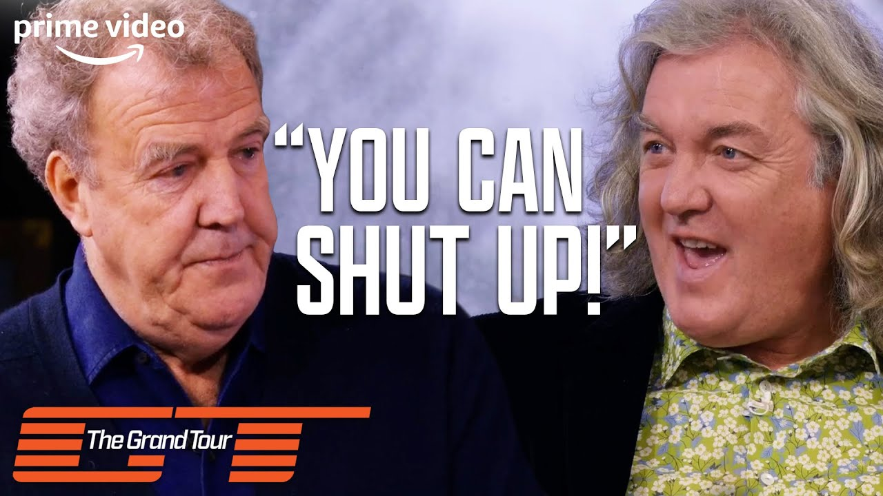 The Most Hilarious Clarkson, Hammond and May Trash Talk | The Grand Tour Season 3 | Prime Video