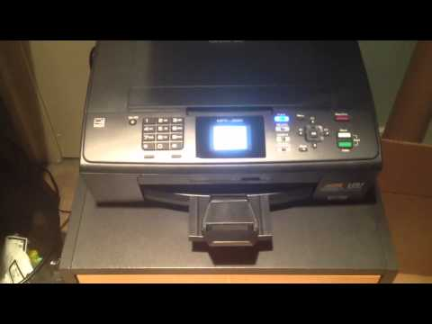 Brother MFC-J220 All-In-One Printer/Scanner/Copier/Fax