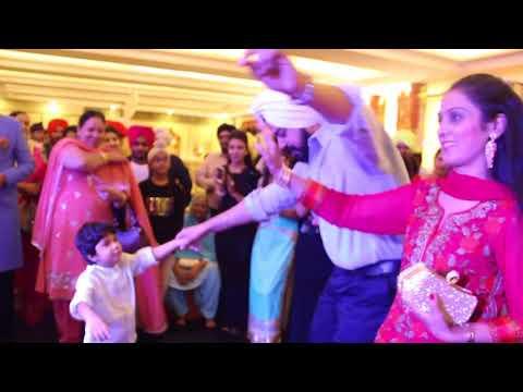 Garima Kapoor hosting Sikh post-Wedding Gig with Punjabi boliyaan.