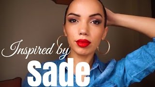 Iconic Style : SADE inspired makeup + hair look