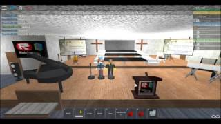 Roblox Bible Baptist Church Thanksgiving Service