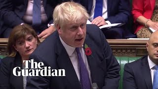 Boris Johnson tries to secure December election – watch live