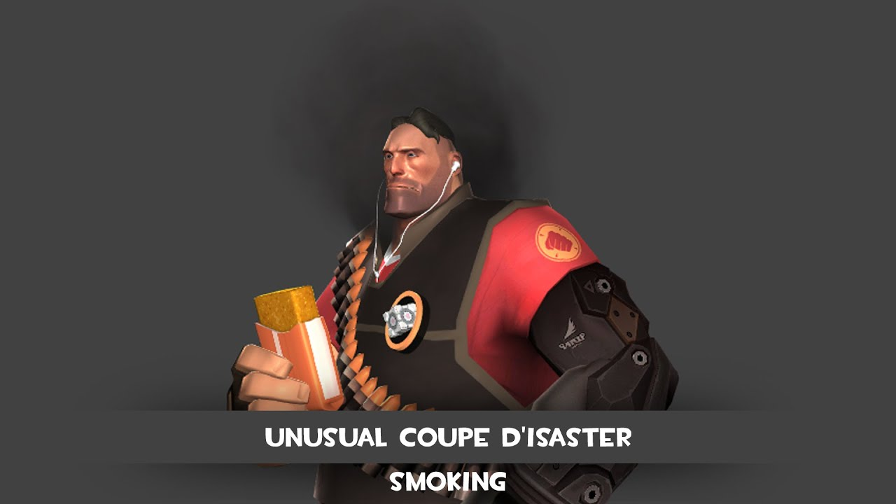 team fortress 2 - unusual coupe - smoking effect