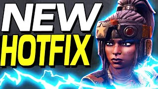 Borderlands 3 - NEW HOTFIX AMARA NERFS & MORE !!