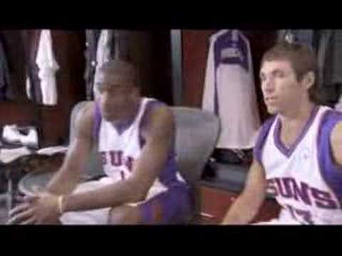 NBA TNT Nash Stoudemire Commercial