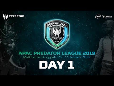 APAC Predator League 2019 Indonesia Final Day 1 @Taman Anggrek Mall
