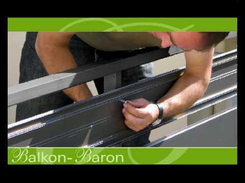 Balkon-Balkongeländer-Geländer-Terrasse-Balustrade | Doovi