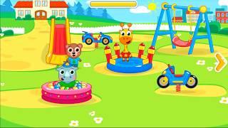 Permaian Taman Kanak-kanak | Kindergarten Learning Videos Games For Children
